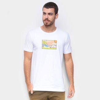 Camiseta New Era Summer Times Beach Masculina