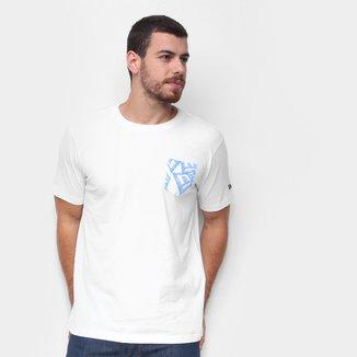 Camiseta New Era Summer Times C/ Bolso Masculina