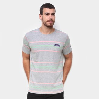 Camiseta New Era Summer Times Listrada Masculina
