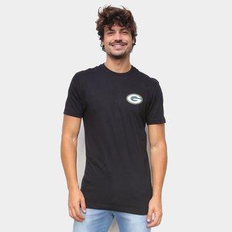 Camiseta NFL Green Bay Packers New Era Logo Grepac Masculina
