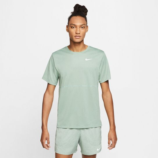 Factibilidad Factura Quejar  Camiseta Nike Dri-Fit Breathe Run Masculina - Marinho e Prata | Allianz  Parque Shop
