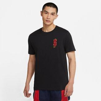 Camiseta Nike Kyrie Irving Logo Fire Masculina