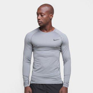 Camiseta Nike Pro Tight Manga Longa Masculina