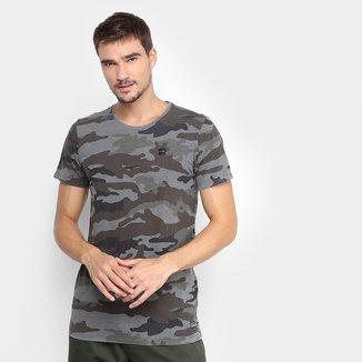 Camiseta Oakley Mod Camuflada Masculina