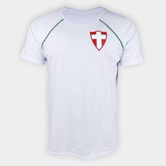 Camiseta Palmeiras Palestra Itália Raglan Masculina