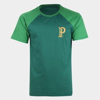 Camiseta Palmeiras Recortes Masculina