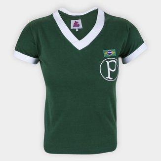 Camiseta Palmeiras Retrô 1951 Feminina
