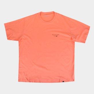 Camiseta Plus Size Natural Art Surf To Live Masculina