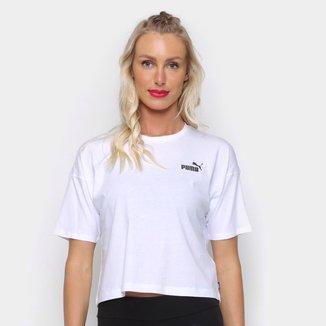 Camiseta Puma Cropped Small Logo Feminina