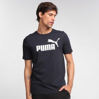 Camiseta Puma Ess Logo Masculina