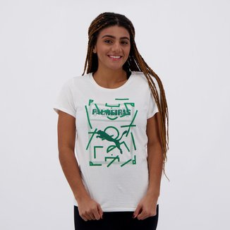 Camiseta Puma Palmeiras Graphic Feminina