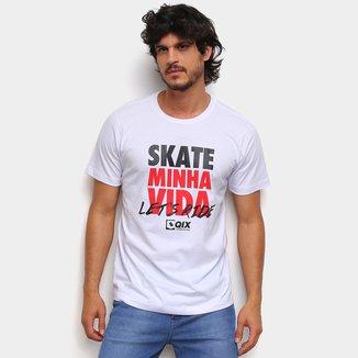 Camiseta Qix Special Skate Minha Vida Masculina