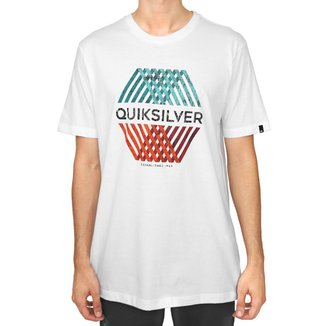 Camiseta Quiksilver Bas Multi Hex Masculina