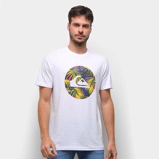 Camiseta Quiksilver Jungle Logo Masculina