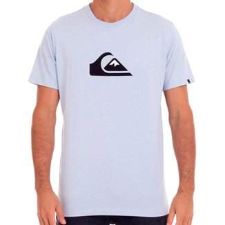 Camiseta Quiksilver Logo Color Masculina