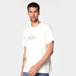 Camiseta Quiksilver Pastel Logo Masculina