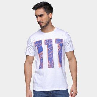 Camiseta RB111 Rubens Barrichello Modern Masculina