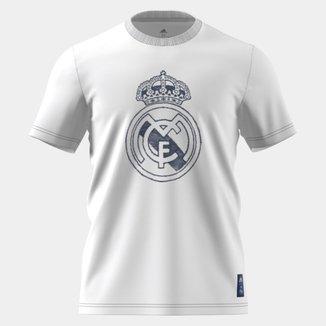 Camiseta Real Madrid Adidas Gráfica Masculina