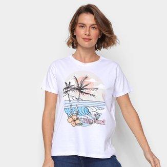 Camiseta Rip Curl Break Sunset Feminina