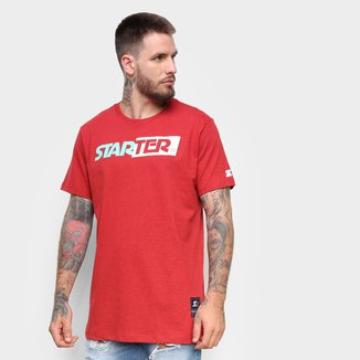 Camiseta Starter Logo Box Mesclada Masculina