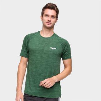 Camiseta Topper Performance Mescla Masculina