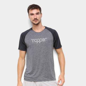 Camiseta Topper Treino Print Masculina
