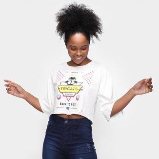Camiseta Tricats Lavada 90´S Feminina