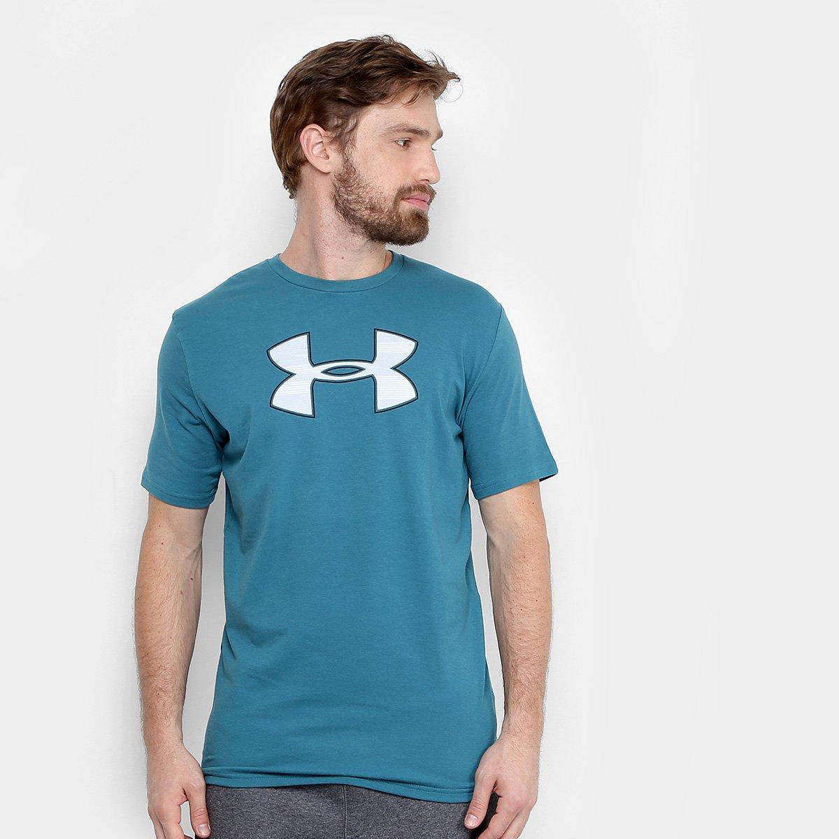 e0f0b08bda0 Camiseta Under Armour Big Logo Masculina - Compre Agora