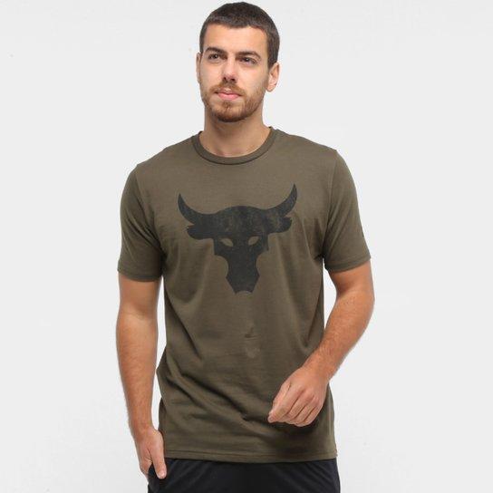 capacidad oler preocuparse  Camiseta Under Armour Project Rock Bul Masculina   Allianz Parque Shop