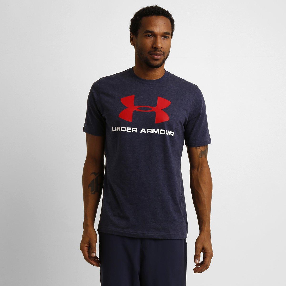 d9a313e728a Camiseta Under Armour Sportstyle Logo Masculina - Compre Agora ...