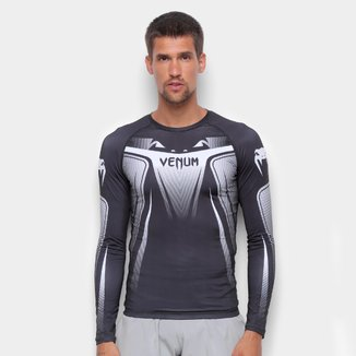 Camiseta Venum Rashguard No Gi 3.0 Manga Longa Masculina