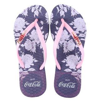 Chinelo Coca Cola Dawn Flowers Feminino