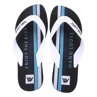 Chinelo Hang Loose Enjoy The Ride Masculino
