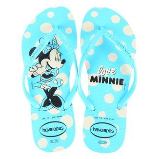 Chinelo Havaianas Disney Minnie FC Feminino