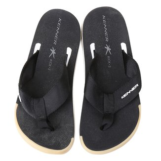 Chinelo Kenner Kick.S Line Black Masculino