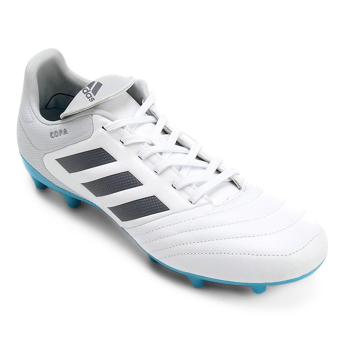 Chuteira Campo Adidas Copa 17.3 FG Masculina - Branco - Compre Agora ... 8bc9fda88044b