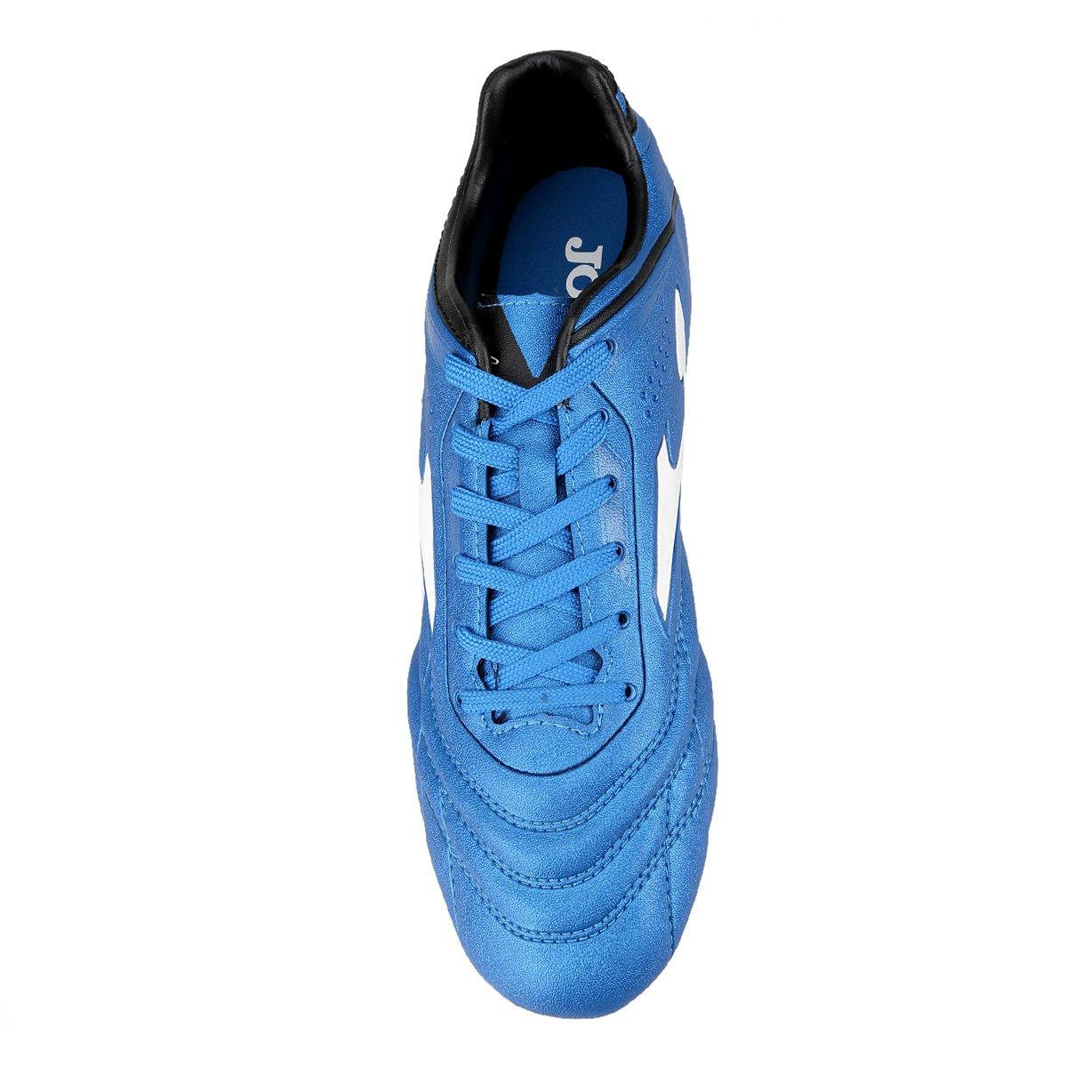Chuteira Campo Joma Aguila - Azul - Compre Agora  94ace988ce133
