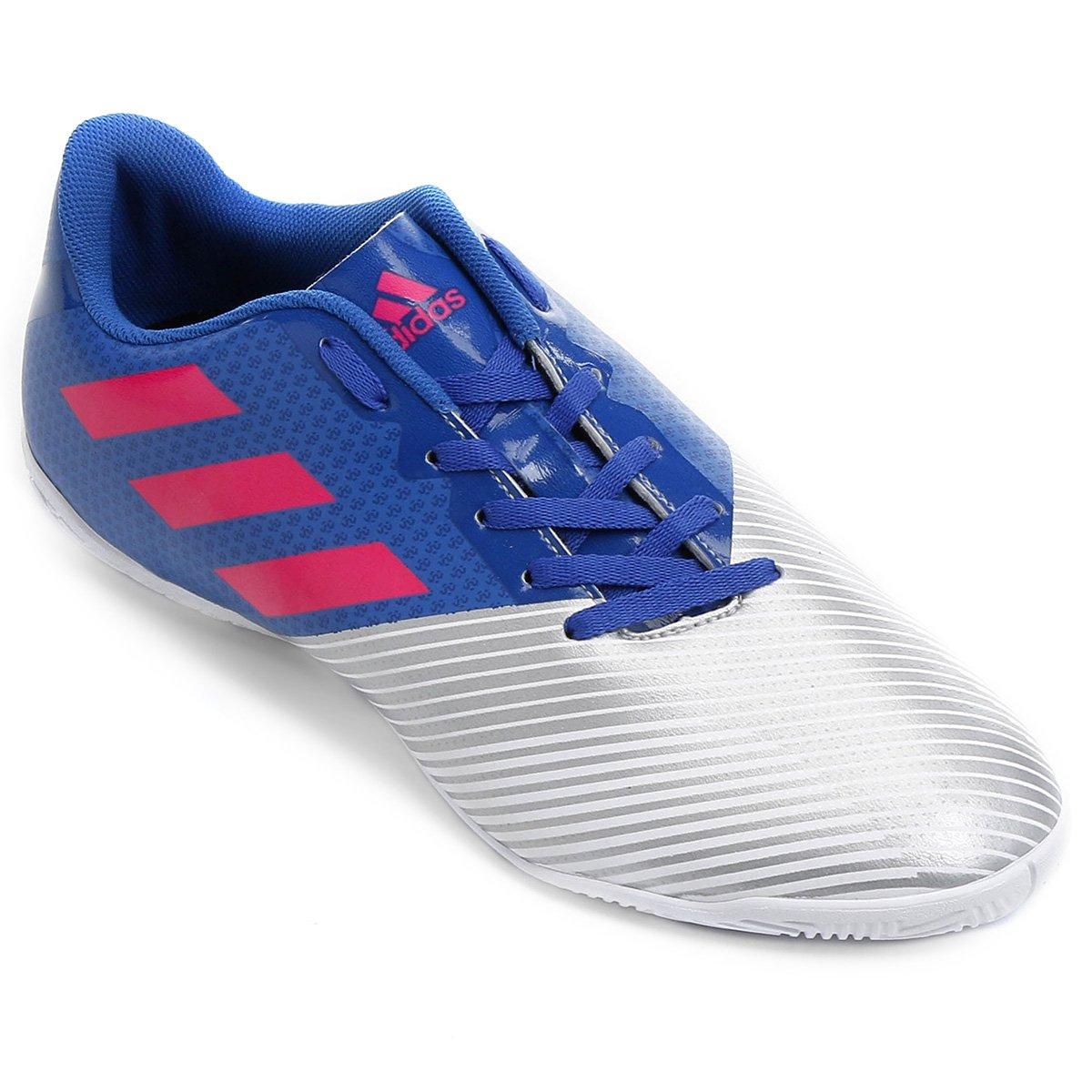 38e789db93 Chuteira Futsal Adidas Artilheira 17 IN - Azul e Prata