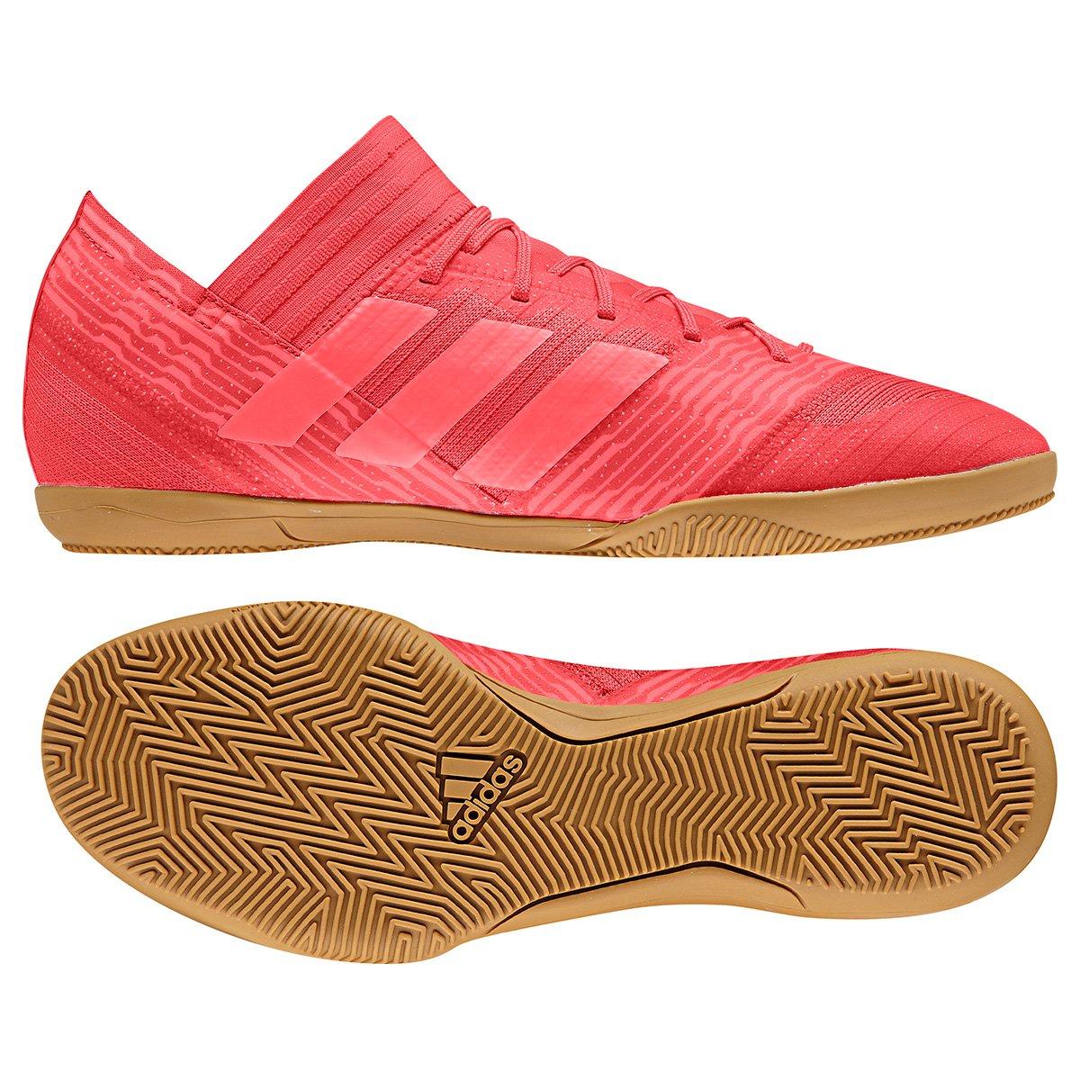 60a90b0a28a0 Chuteira Futsal Adidas Nemeziz 17.3 IN - Vermelho - Compre Agora ...