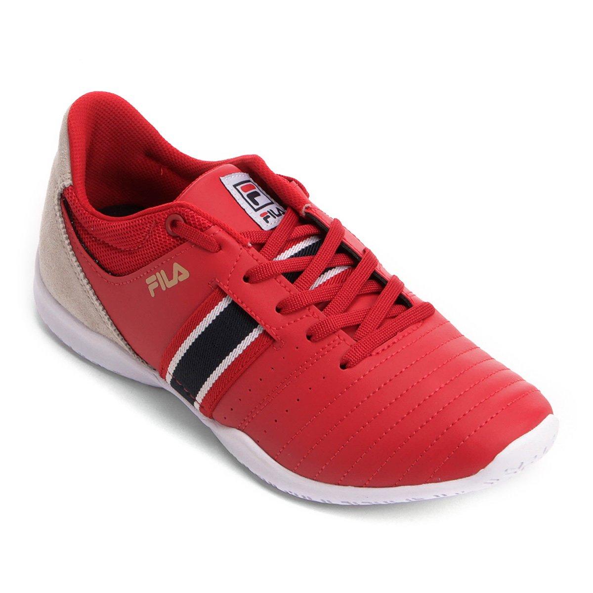 e9e4148e4f7 Chuteira Futsal Fila Top Munir - Vermelho - Compre Agora