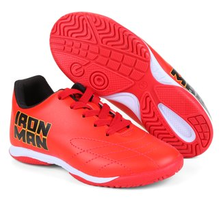 Chuteira Futsal Infantil Marvel Homem de Ferro I