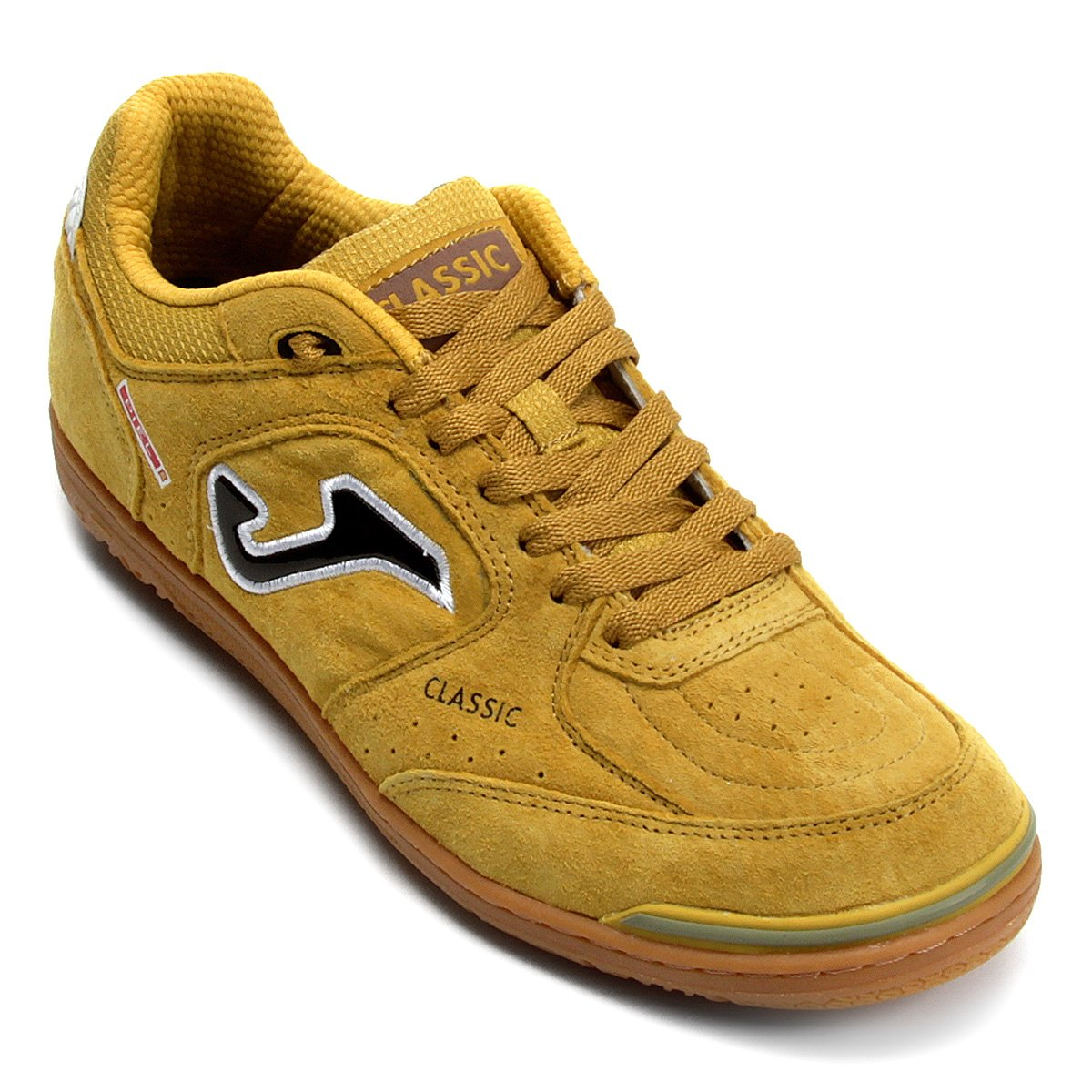 Chuteira Futsal Joma Classic Nobuck IN - Amarelo - Compre Agora ... c2944d1c7878f