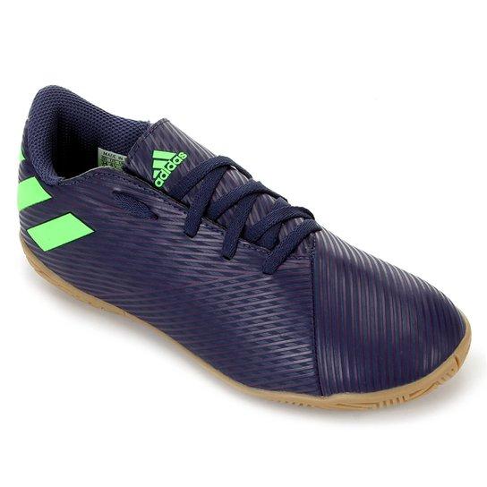 Chuteira Futsal Juvenil Adidas Nemeziz Messi 19 4 IN - Roxo