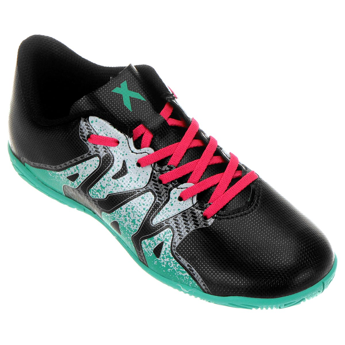 7da3377c0a652 Chuteira Futsal Juvenil Adidas X 15 4 IN | Allianz Parque Shop