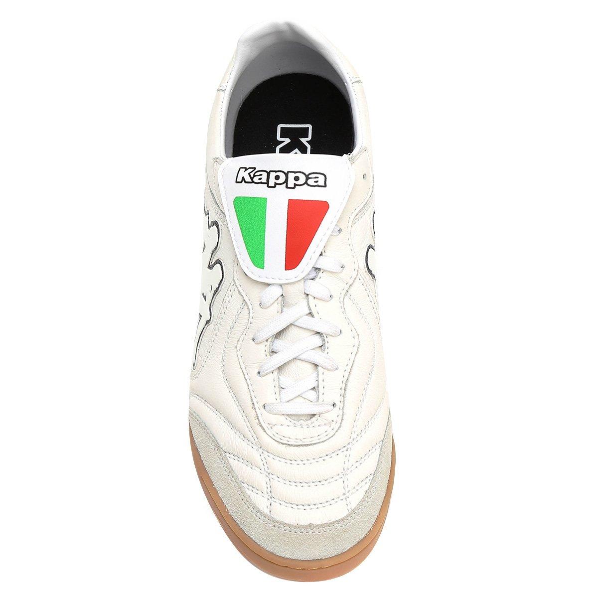 000d06b53b Chuteira Futsal Kappa Pelle Couro - Off White - Compre Agora ...