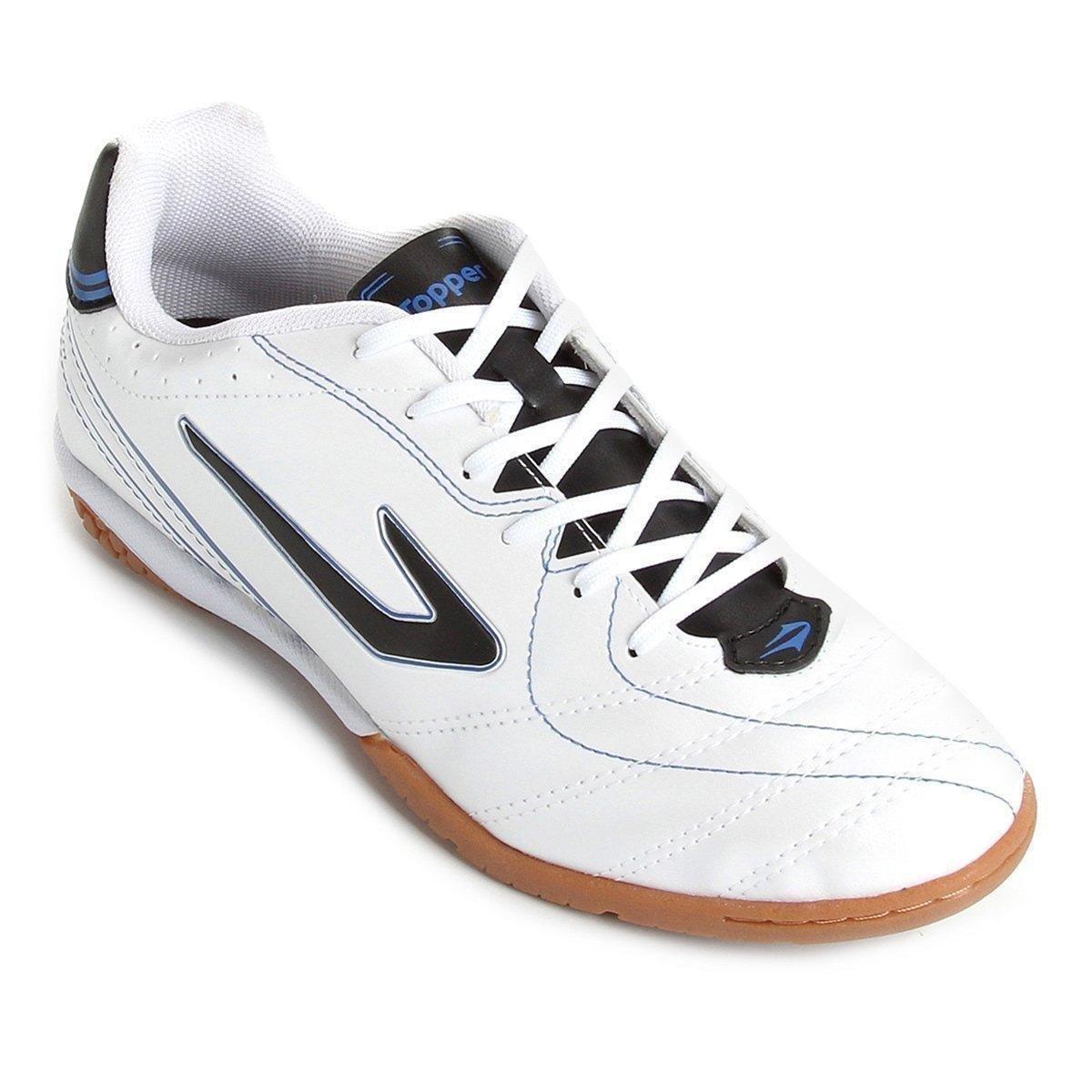 02733e8fe7ff3 Chuteira Futsal Topper Titanium 6 - Compre Agora
