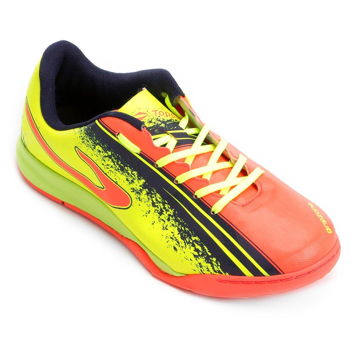 Chuteira Futsal Topper Trivela - Preto - Compre Agora  8148d69870757