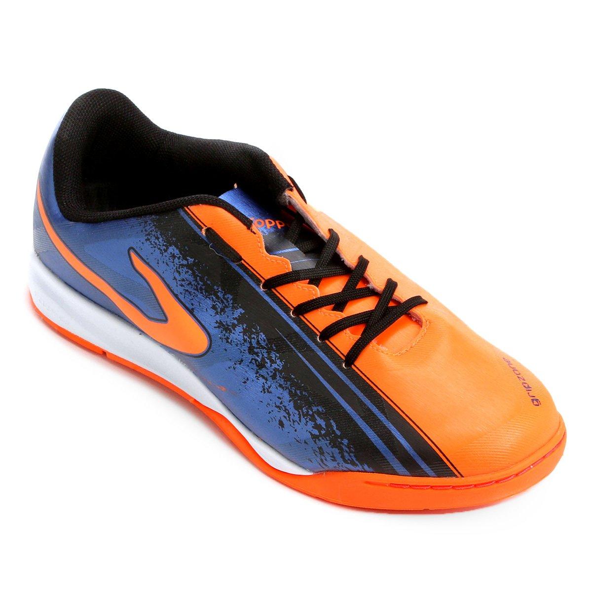 8cb5807bb Chuteira Futsal Topper Trivela - Compre Agora