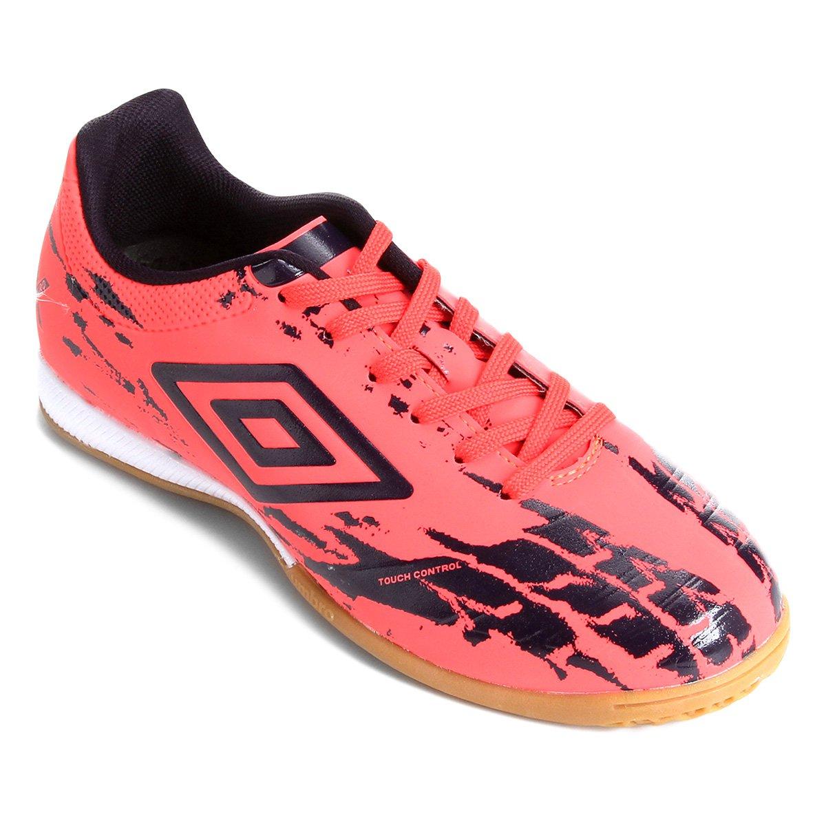 Chuteira Futsal Umbro Accuro II Club - Vermelho - Compre Agora ... c004711f626a8