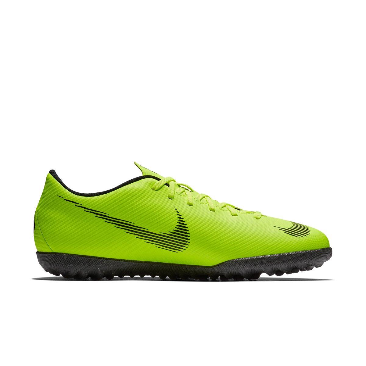 a8640c587b8ee Chuteira Nike Society Mercurial Vapor 12 Club - Verde e Preto - Compre  Agora